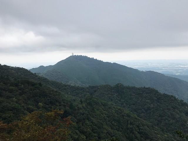 仙ヶ岳 南尾根より野登山