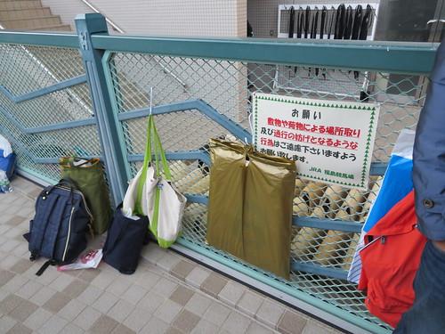 福島競馬場のウィナーズサークルでの場所取りマナー