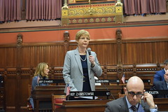 Rep. Zawistowski makes a point of personal privilege to memorialize former East Granby Representative William Meyer