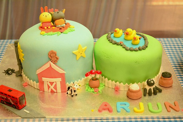Nursery Rhymes Themed Cake by Sirisha Davuluri