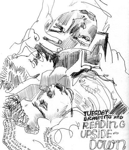 Sketchbook #112: Reading Time