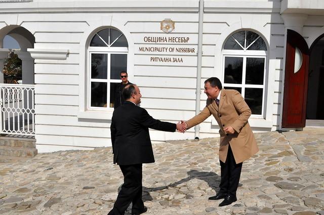Ambassador Rubin Visits Nessebar