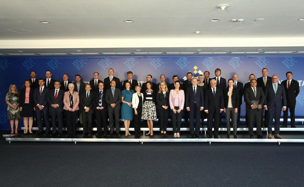 Informal meeting of ministers of health: Family photo and Press conference
