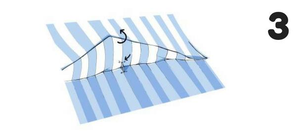 Cutting Stripes Step 3