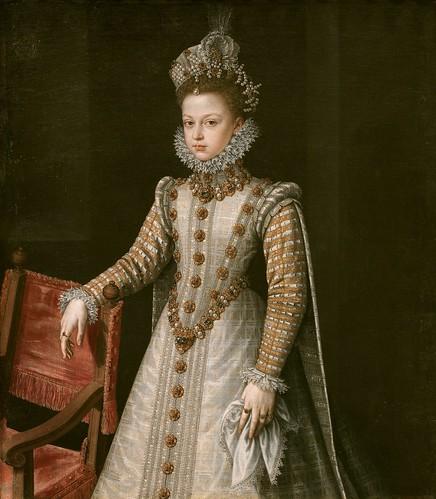 Alonso Sánchez Coello (Spanish, ca. 1531-1588), The Infanta Isabel Clara Eugenia, 1579