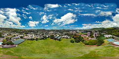 The Kanewai Community Park shot from my Mavic Pro hovering 212 feet up - an aerial 360° Equirectangular VR