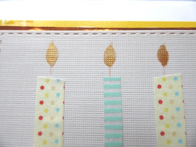 Schnelle Geburtstagskarte mit Washi Tape