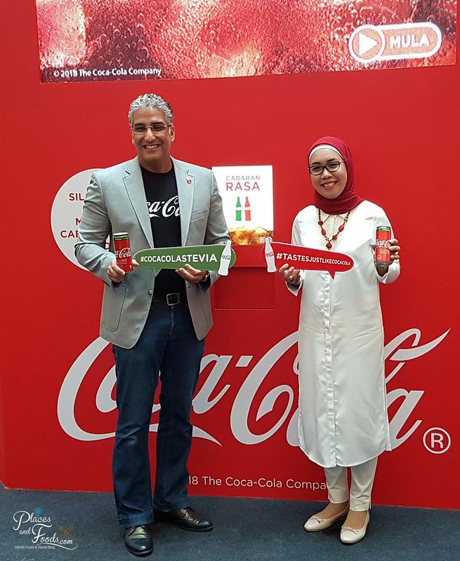 coca cola stevia malaysia launch