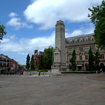 Flag Market square in Preston