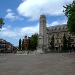 Flag Market square in Preston