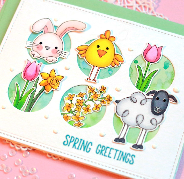 spring greetings 2 close up