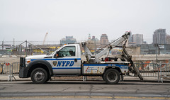 NYPD Tow Truck - Mets Willets Point, Queens NYC