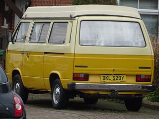 1982 Volkswagen Transporter Camper Van