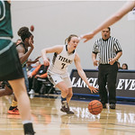Lauren Walkley dribbles (photo submitted)