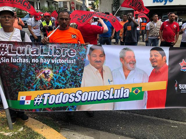 Acto en homenaje al gran revolucionario y líder clasista Lula  - Créditos: Hernán Vargas