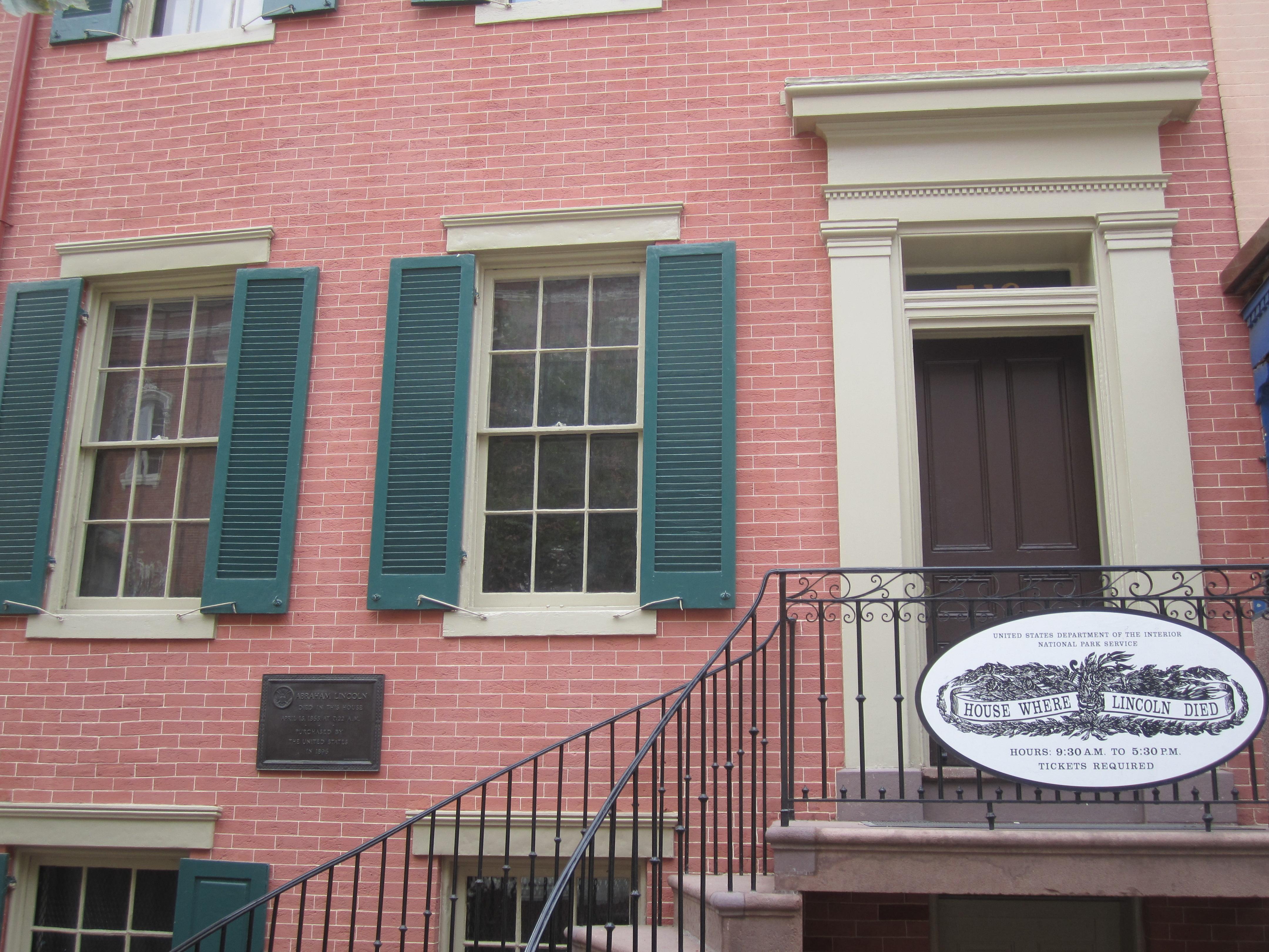 Petersen House in Washington, D.C. Photo taken on July 29, 2011.