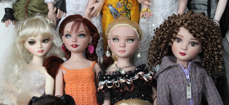 Fiona, Pippi, Trista, Chloe
