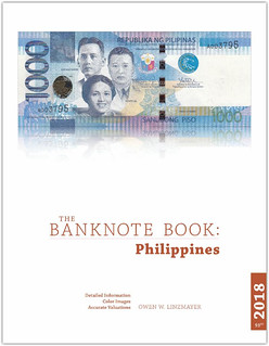 Banknote book Philippines cover
