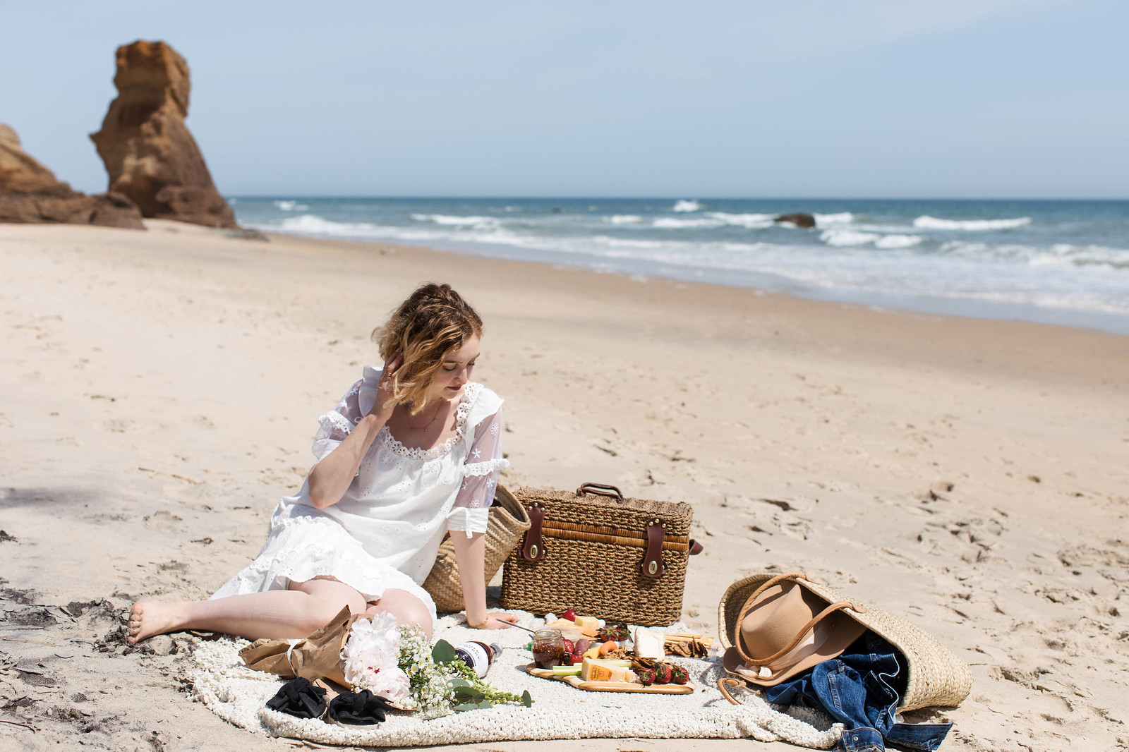 Parisian Beach Picnic on juliettelaura.blogspot.com