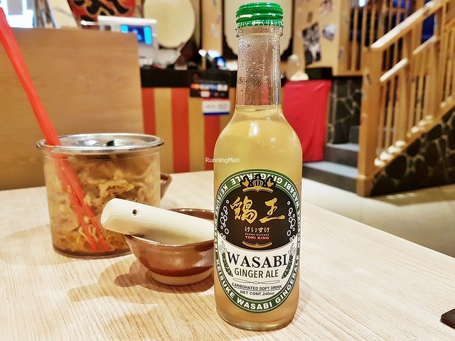 Soft Drink Wasabi Ginger Ale
