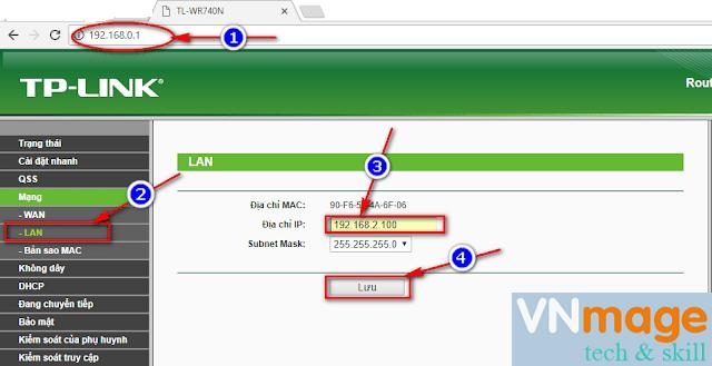 Cách cài đặt TP Link làm Repeater
