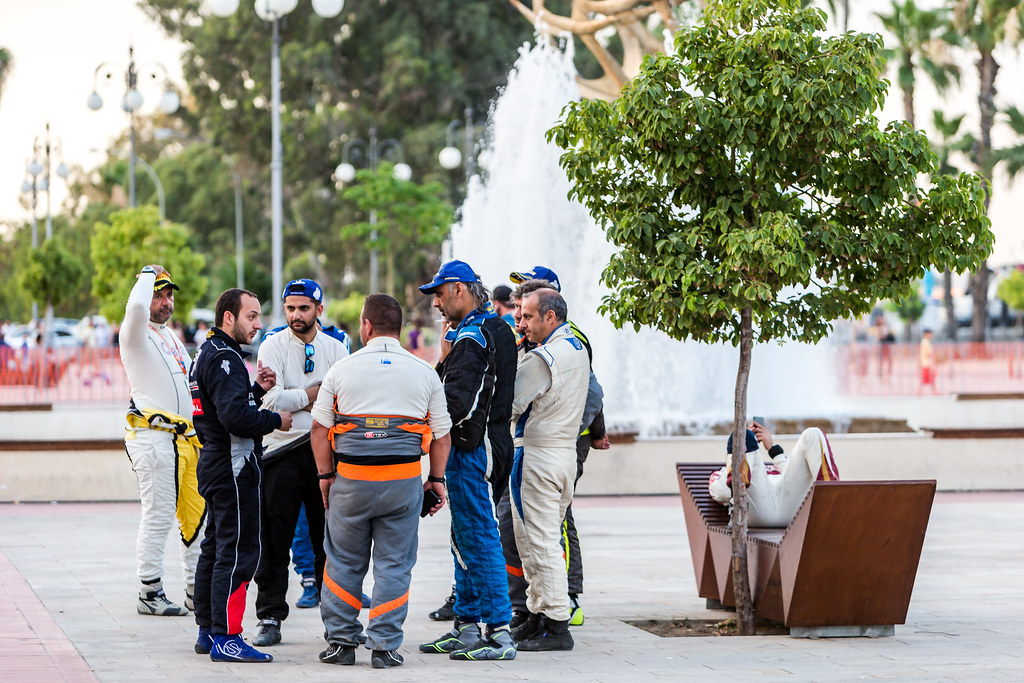 Drivers during the 2018 European Rally Championship ERC Cyprus Rally,  from june 15 to 17 at Larnaca, Cyprus - Photo Thomas Fenetre / DPPI