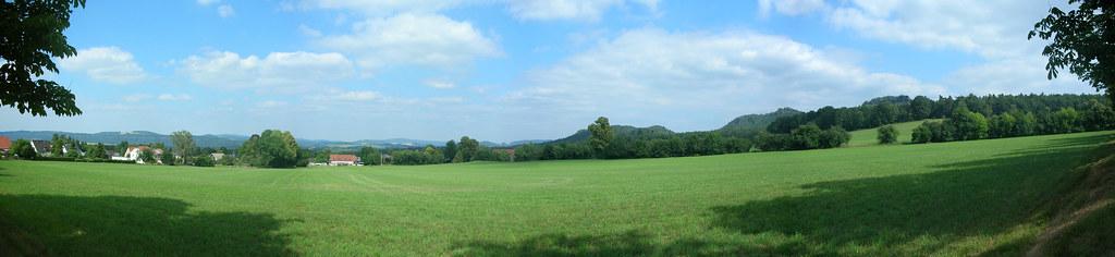 Landschaft bei Gohrisch