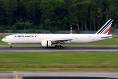 Air France | Boeing 777-300ER | F-GSQA | Singapore Changi