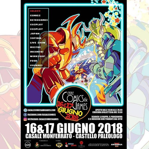 Casale Comics 2018 Locandina