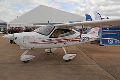 G-RFCA Tecnam P2008-JC Royal Air Force Charitable Trust RAF Fairford R