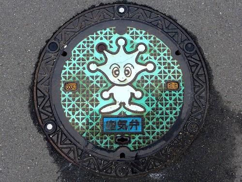 Yokosuka Kanagawa, manhole cover 5(神奈川県横須賀市のマンホール5)