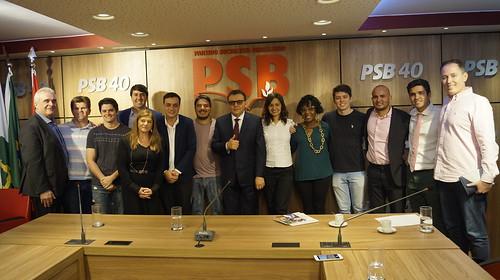 Reunião com pré-candidatos socialistas participantes do Renova BR