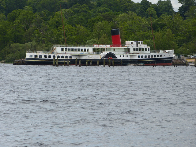 365/174 [130623] - Paddle Steamer [Maid of the Loch]