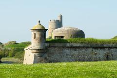 Quand les fortifications de la 2nd guerre se font une place dans les fortifications Vauban