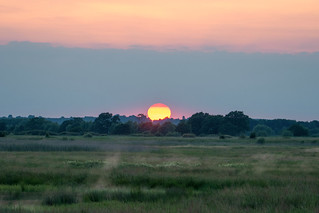 Sunset on Otmoor