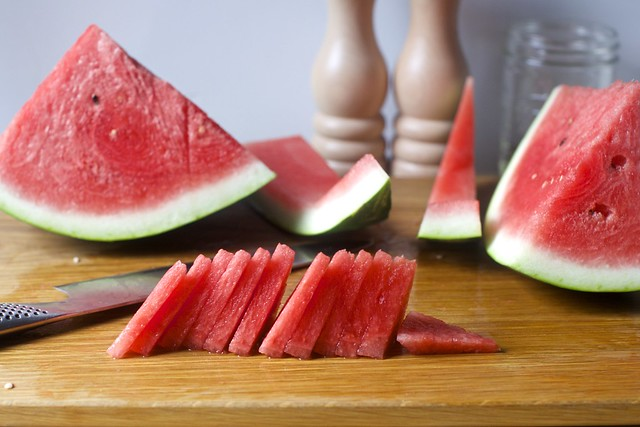 watermelon triangles