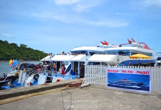 phuket krabi itinerary phuket to koh phi phi ferry