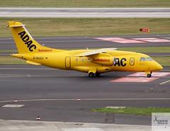 Aero-Dienst ADAC Ambulance D328JET D-BADA taxiing at DUS/EDDL