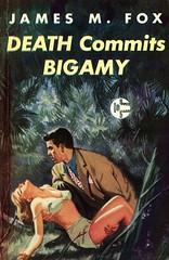 Graphic Books 14 - James M. Fox - Death Commits Bigamy