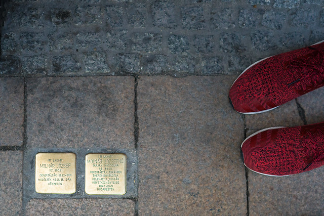 Budapest Stumble Stones