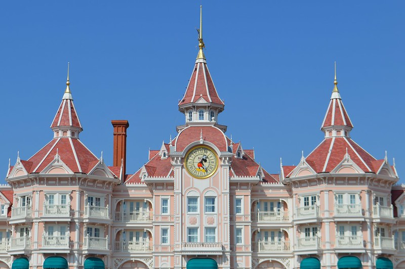 This is a picture of the Disneyland Hotel Paris