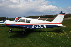 G-JDJM Piper PA-28-140 (28-26877) Popham 030510