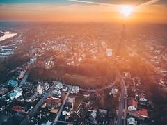 Spring Sunrise | Kaunas Aerial #109/365