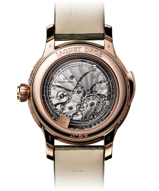 Jaquet Droz Tropical Bird Repeater Watch - Back