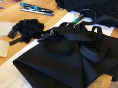 Black fabric test