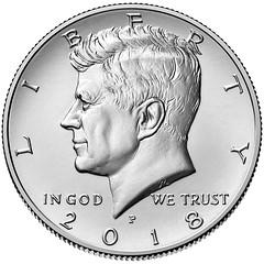 2018-P kennedy-half-dollar obverse