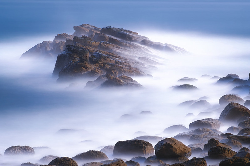 基隆外木山の海岸風景
