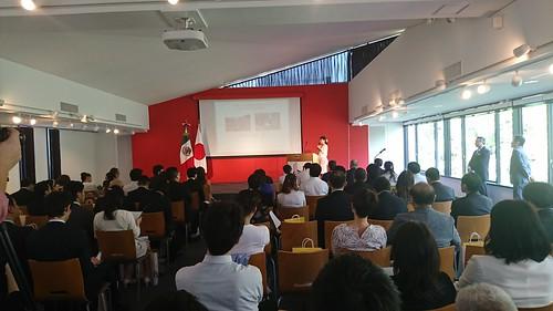 Seminario de promoción de jarabe de agave en Tokio