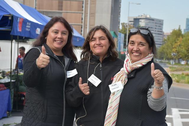 Feria Del Campo a la Ciudad. Fao Chile 17 abril 2018.