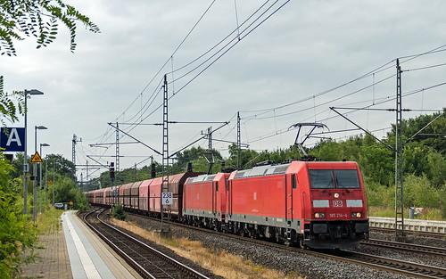 Buechen 185 214-4 185 xxx Erz Ziltendorf-  Hansaport